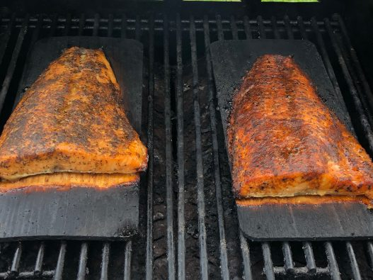 Cedar Bay Grilling Company Salmon