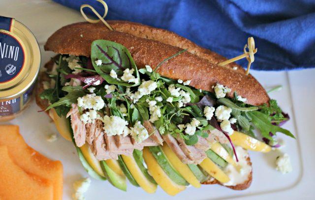 Deconstructed Tuna Salad Sandwich