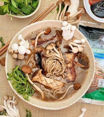 Soba Buckwheat Noodle Ramen