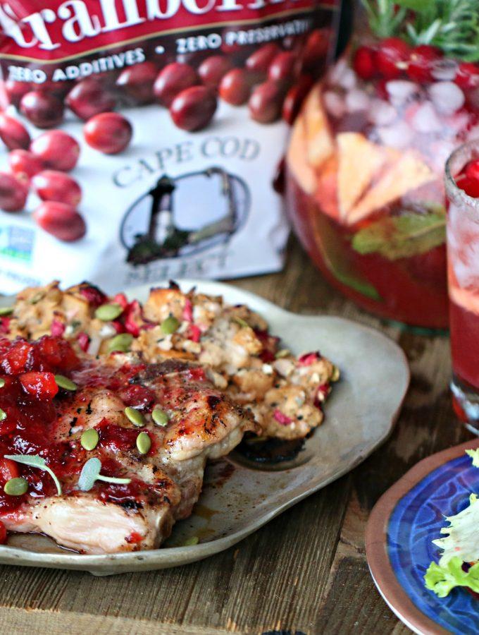 Cranberry Pineapple Pork Chops