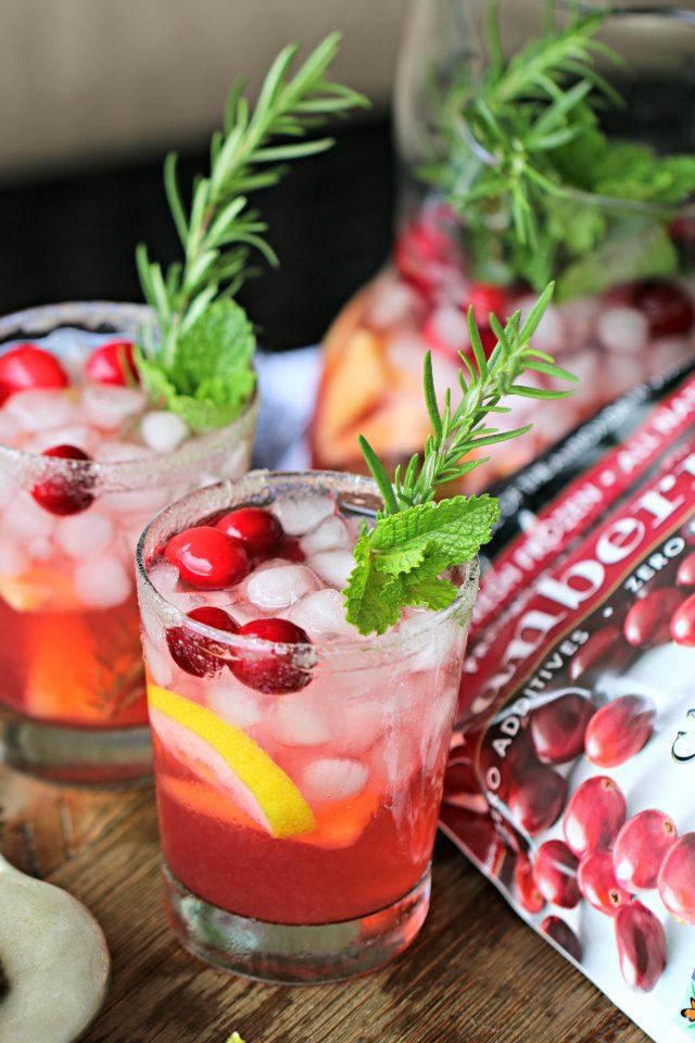 Cran-rosemary Lemonade