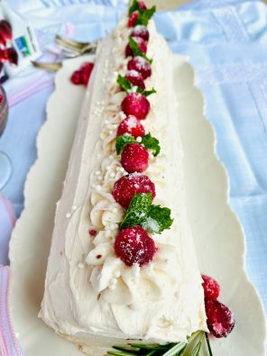 Cranberry Jelly Roll
