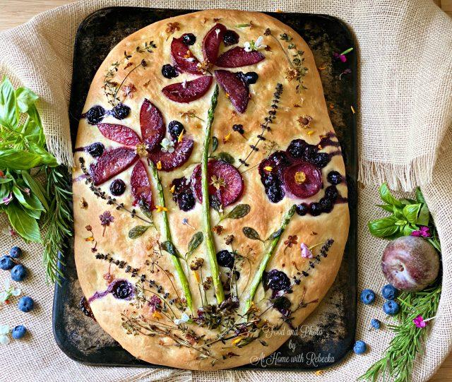 Focaccia Art Bread Recipe