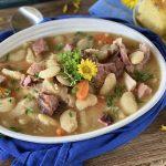 Lima Bean and Ham Stew Recipe