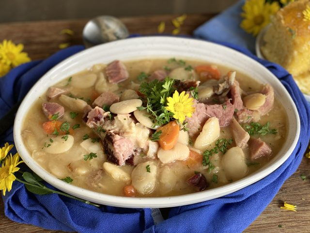 Lima Bean and Ham Stew