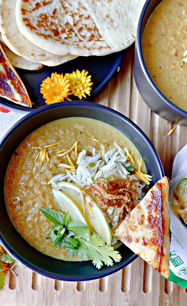 Thai Coconut Lentil Soup Recipe