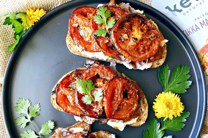 Tikka Masala Steak Sandwich