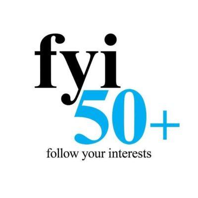 FYI50+Magazine Logo