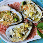 Chargrilled Salsa Verde Oysters