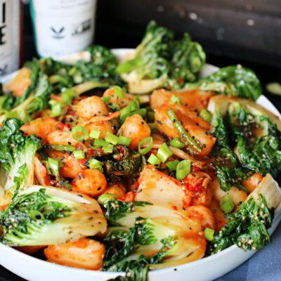 Korean Rice Noodle Dish